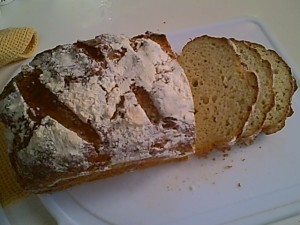 Simply Sugar and Gluten Free's Sandwich Bread with Sourdough Starter