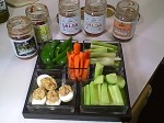 My Summer Relish Tray