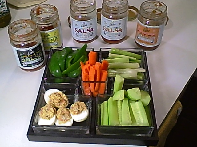 You'll Relish This Summer Relish Tray Made With Ernie's Salsas
