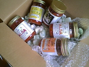 Ernie's Salsas Just Delivered