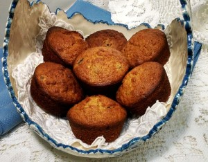 GlutenFree Oatmeal Raisin Muffins with Honey