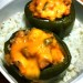 Chicken Stuffed Peppers Out of the Oven