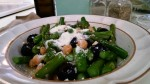 Easy Gluten-Free Asparagus Salad with Beans, Topped with Parmesan