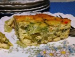 Gluten-Free Breakfast Quiche with Broccoli